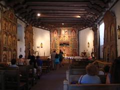 inside the Santuario de Chimayo