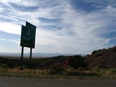 road to Cohiti Pueblo