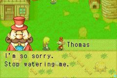 stop watering