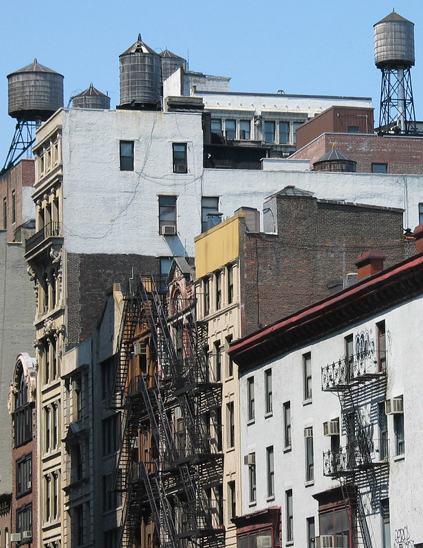 Roofs near Union Square