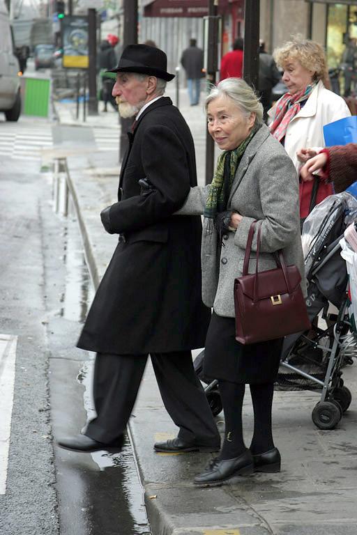 on the street in Paris