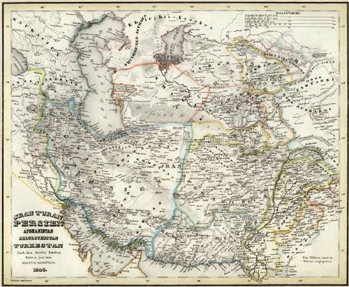 Persia_afghanistan_1848
