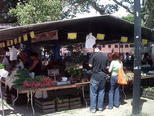 McCarren Park Green Market Vegetables