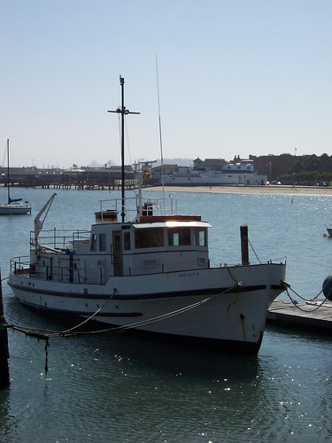 Boat in the Aquatic Park