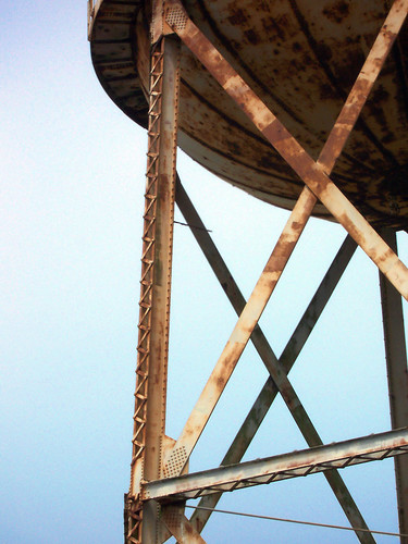 Water Tower on Alcatraz