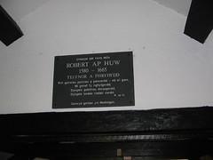 Cofeb Robert ap Huw, Melin Llynnon, Llanddeusant
