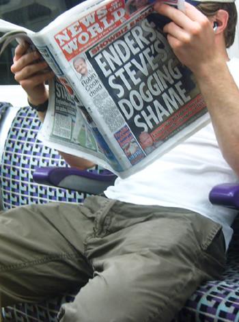 News of the World Headlines