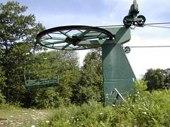Abandoned ski area