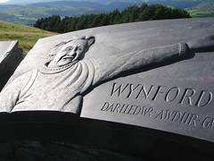 Cofeb Wynford Vaughan Thomas, Aberhosan