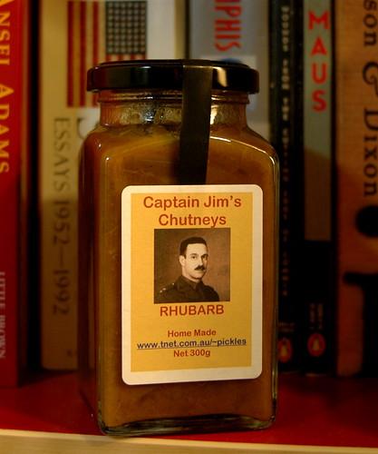 Captain Jim's Rhubarb Chutney