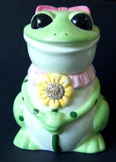 Kitchen Set - Frog Canister