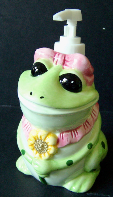 Kitchen Set - Frog Lotion Pump