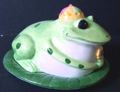 Kitchen Set - Frog Butter Dish