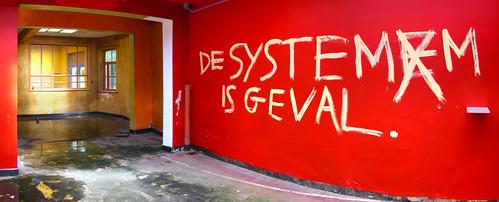 De systemem is geval