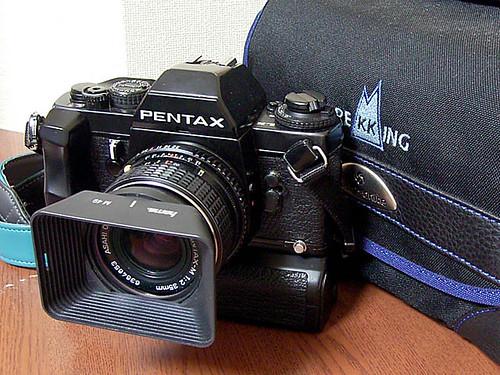 Pentax LX+SMC PENTAX-M35mm/f2