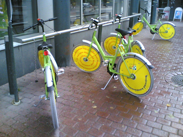 Citybikes are back