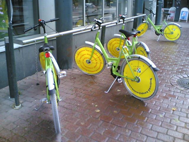 Citybikes are back