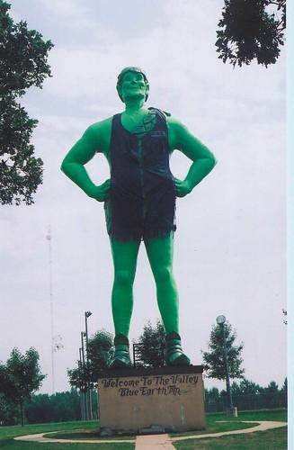 jolly green leather boy