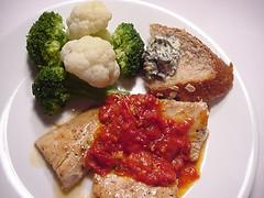 Mahi-Mahi Diet Dinner
