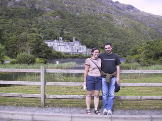 Erin and me, Kylemore Abbey, Connemara, Co. Galway | by hober