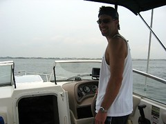 John on the ocean