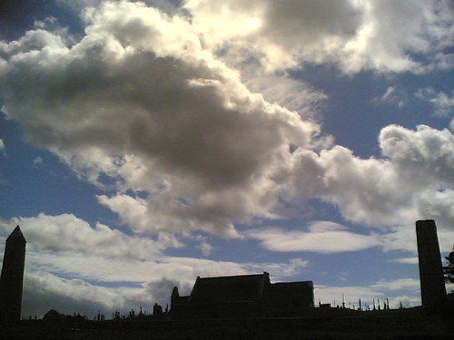 Clonmacnoise silhouette