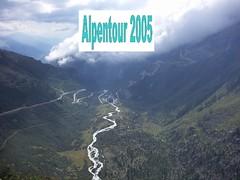 Fotoalbum Alpentour 2005