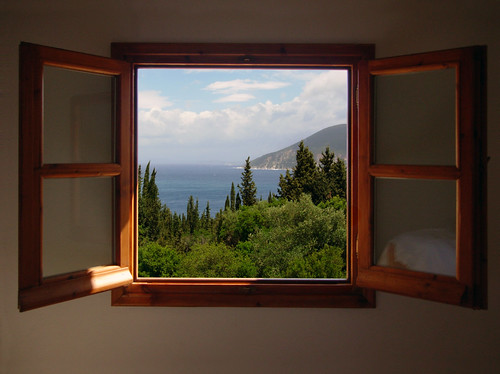 Out my window - Cephallonia, Greece vacation