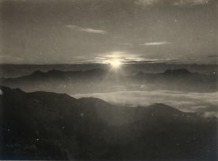sunrise in Mt.Shirouma