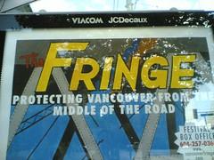Fringe Festival Poster