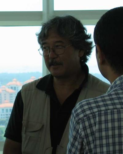 The very affable Micheal Yamashita