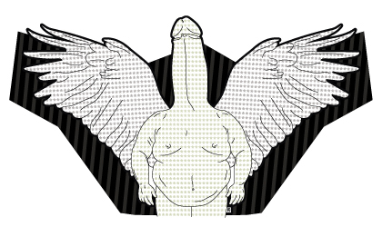 fat dick with wings