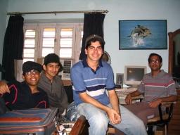 Srick, Dejo, Mehra and Pani in Mehra's house