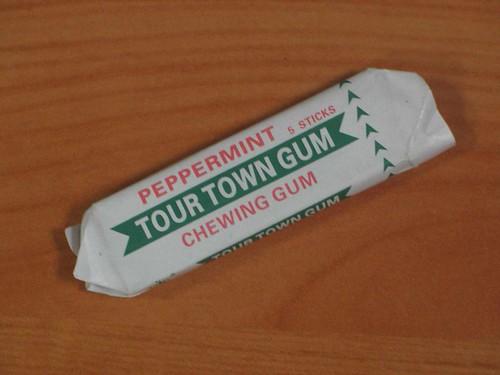 Tour Town Gum