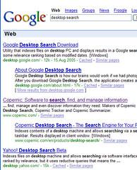 Desktop Search en Yahoo!