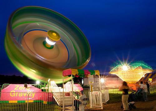 glowing wheel | by Sara Heinrichs (awfulsara)