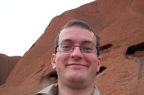 Kai at Ayer's Rock