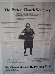 The Perfect Church Secretary
