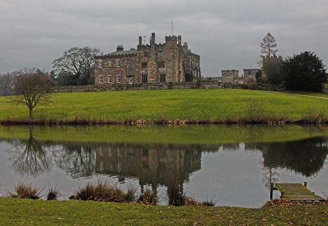 Ripley Castle Reflection