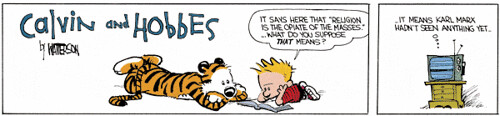 Calvin and Hobbes: Opiate of the Masses 2 | by tabootenente