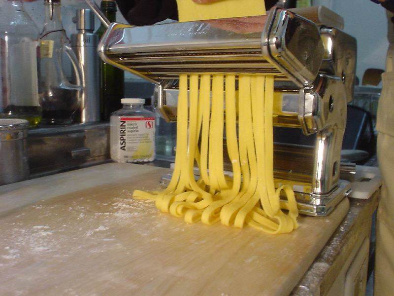 the pasta maker
