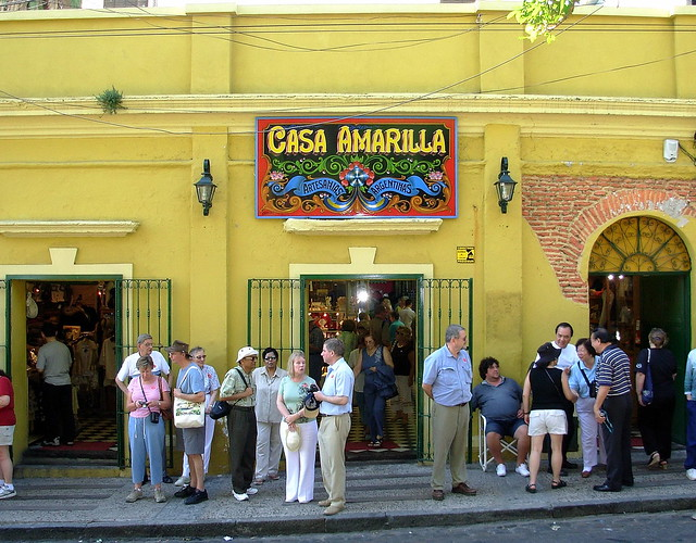 Casa Amarilla. Yellow house