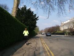 Regent's Park jogger