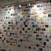 Wall of postcards at the Homestead Gallery: Day 1 by The Random Project