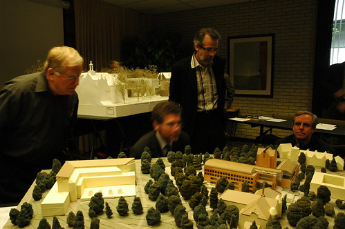 UW Architectural Commission, Model of the new School of Business | by Wonderlane