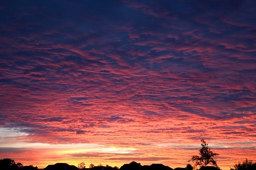 clouds sunrise dawn texas katy