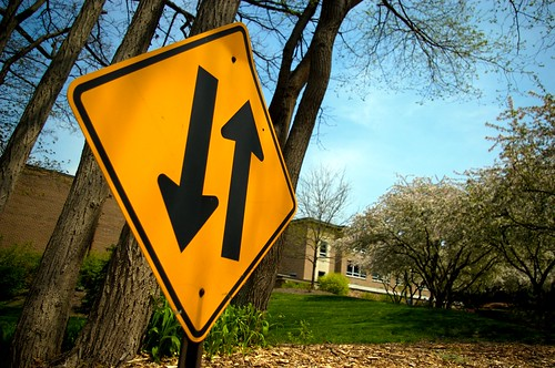 Two-Way Street Sign | by z6p6tist6