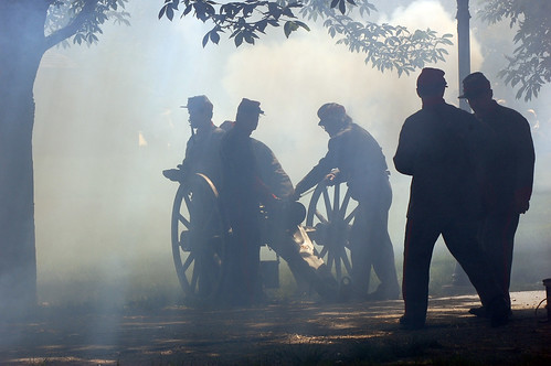 civil_war_cannon_smoke | by Tom Gill.