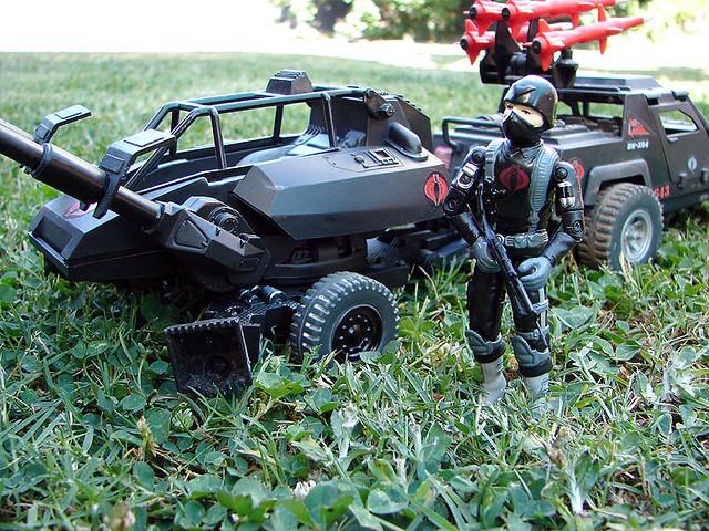 Cobra Commando and ASP  | I made the Cobra Commando figure a