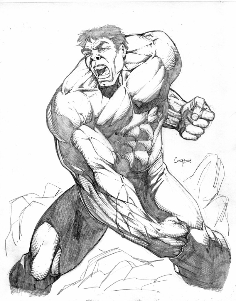 Hulk yells by chee lee hulk yells by chee lee